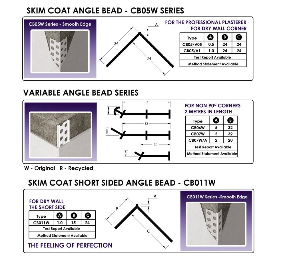 Angle bead - 1