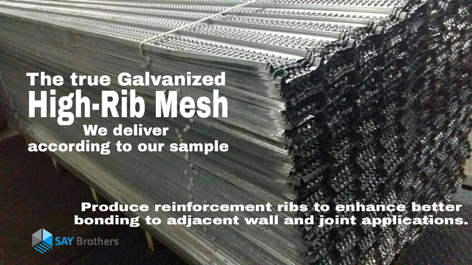 High Rib Mesh Say Brothers