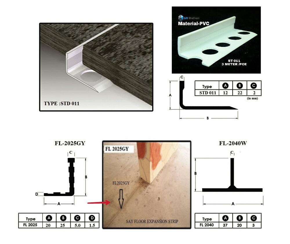 Floor Expansion Joint S A Y Brothers Building System Pte Ltd