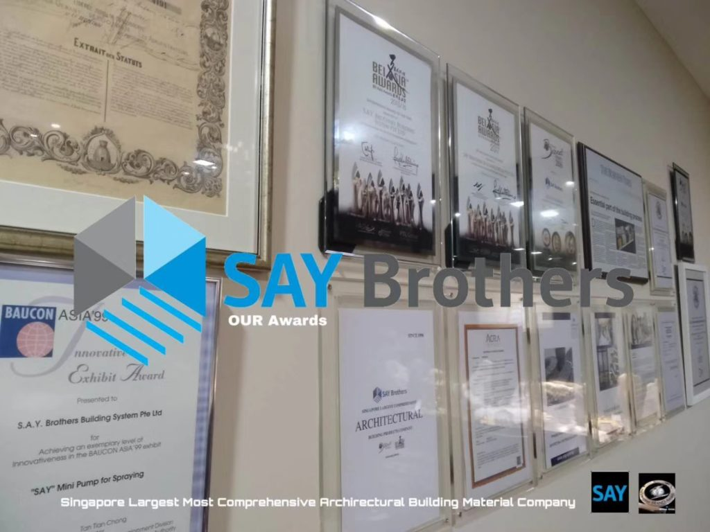 S A Y Brothers Building System Pte Ltd – Singapore Largest